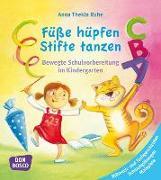 Cover-Bild zu Füße hüpfen, Stifte tanzen von Ruhe, Anna Thekla