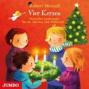 Cover-Bild zu Vier Kerzen. Poetischer Liederspaß für die Advents- und Winterzeit