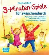 Cover-Bild zu 3-Minuten-Spiele für zwischendurch von Erkert, Andrea