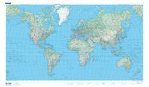 Cover-Bild zu Welt physikalisch. 1:50'000'000