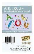 Cover-Bild zu A, E, I, O, U - Was ist dein Wort dazu? von Fischer, Ursula Renate