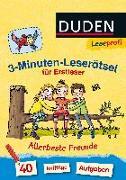 Cover-Bild zu Duden Leseprofi - 3-Minuten-Leserätsel für Erstleser: Allerbeste Freunde von Moll, Susanna