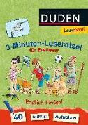 Cover-Bild zu Duden Leseprofi - 3-Minuten-Leserätsel für Erstleser: Endlich Ferien! von Moll, Susanna