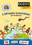 Cover-Bild zu Duden Leseprofi - 3-Minuten-Leserätsel für Erstleser: Reise um die Welt von Moll, Susanna