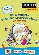 Cover-Bild zu Duden Leseprofi - Der extradicke 3-Minuten-Leserätsel-Block für Erstleser von Moll, Susanna