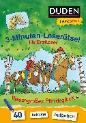 Cover-Bild zu Duden Leseprofi - 3-Minuten-Leserätsel für Erstleser: Riesengroßes Pferdeglück von Moll, Susanna