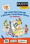 Cover-Bild zu Duden Leseprofi - Der superspannende 3-Minuten-Leserätsel-Block für Erstleser von Moll, Susanna
