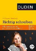 Cover-Bild zu Wissen - Üben - Testen: Deutsch - Richtig schreiben 3. Klasse (eBook) von Müller-Wolfangel, Ute