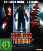 Cover-Bild zu Robert Downey Jr. (Schausp.): Iron Man Trilogie - Collector's Edition