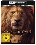 Cover-Bild zu Favreau, Jon (Reg.): Der König der Löwen (LA) 4K + 2D (2 Discs)