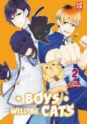Cover-Bild zu Shibamiya, Yuki: Boys will be Cats - Band 2 (Finale)