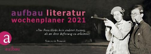 Cover-Bild zu Aufbau Literatur Wochenplaner 2021 von Polojachtof, Catrin (Hrsg.)