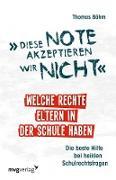 Cover-Bild zu Diese Note akzeptieren wir nicht (eBook) von Böhm, Thomas