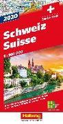 Cover-Bild zu Schweiz 2020 Strassenkarte 1:303 000. 1:303'000