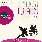 Cover-Bild zu eBook Einfach lieben (Ungekürzte Lesung)