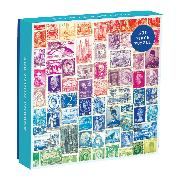 Cover-Bild zu Phat Dog Vintage Stamps 500 Piece Puzzle