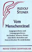 Cover-Bild zu Steiner, Rudolf: Vom Menschenrätsel