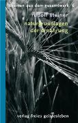 Cover-Bild zu Steiner, Rudolf: Naturgrundlagen der Ernährung
