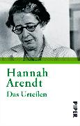 Cover-Bild zu Arendt, Hannah: Das Urteilen (eBook)