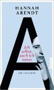 Cover-Bild zu Arendt, Hannah: Ich selbst, auch ich tanze (eBook)
