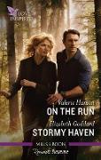 Cover-Bild zu Hansen, Valerie: On the Run/Stormy Haven (eBook)