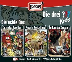 Cover-Bild zu Die drei ??? Kids 3er Box 08. Folge 22-24