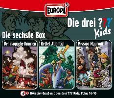 Cover-Bild zu Blanck, Ulf (Gelesen): Die drei ??? Kids 3er Box 06. Folge 16-18