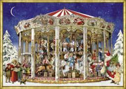 Cover-Bild zu Behr, Barbara (Illustr.): Nostalgisches Weihnachtskarussell. Adventskalender