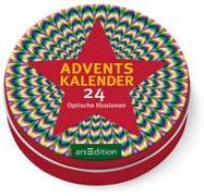 Cover-Bild zu Adventskalender 24 Optische Illusionen