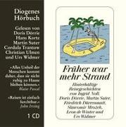 Cover-Bild zu Dörrie, Doris (Gelesen): Früher war mehr Strand