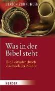 Cover-Bild zu Zurkuhlen, Ulrich: Was in der Bibel steht (eBook)