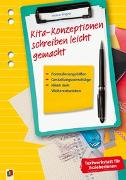 Cover-Bild zu Textwerkstatt für Erzieher und Erzieherinnen: Kita-Konzeptionen schreiben leicht gemacht von Wagner, Yvonne