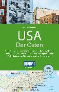 Cover-Bild zu Braunger, Manfred: DuMont Reise-Handbuch Reiseführer USA, Der Osten. 1:1'500'000