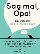 Cover-Bild zu Vliet, Elma van: Sag mal, Opa!