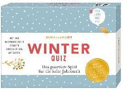 Cover-Bild zu Vliet, Elma van: Erzähl mal! Winterquiz
