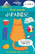 Cover-Bild zu First Words - Japanese von Iwohn, Sebastien
