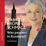 Cover-Bild zu Krone-Schmalz, Gabriele: Was passiert in Russland? (CD)
