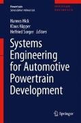 Cover-Bild zu Hick, Hannes (Hrsg.): Systems Engineering for Automotive Powertrain Development (eBook)