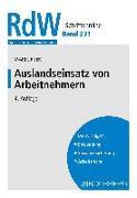 Cover-Bild zu Marburger, Dietmar: Auslandseinsatz von Arbeitnehmern