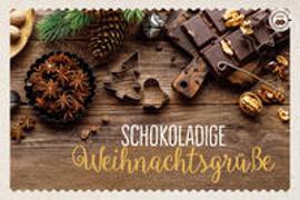 Cover-Bild zu Engeln, Reinhard (Hrsg.): Schokoladige Weihnachtsgrüße
