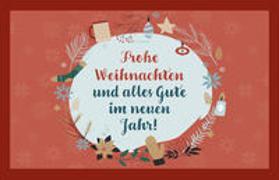 Cover-Bild zu Engeln, Reinhard (Hrsg.): Frohe Weihnachten und alles Gute im neuen Jahr!