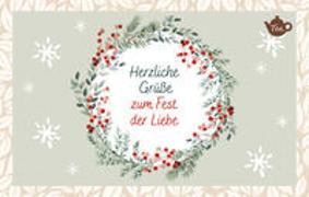 Cover-Bild zu Engeln, Reinhard (Hrsg.): Herzliche Grüße zum Fest der Liebe
