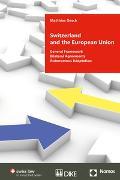 Cover-Bild zu Oesch, Matthias: Switzerland and the European Union