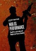 Cover-Bild zu Mantoan, Lindsey: War as Performance
