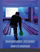 Cover-Bild zu Brenna, Blowy: Bowling Score Notebook: Bowling Score Book 110 page 19 player 10 rounds / Bowling Game Record keeper Book / Best Gift for Bowling Lovers