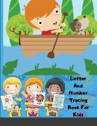 Cover-Bild zu Maxim, Mellow: Letter And Number Tracing Book For Kids: A Fun Practice Workbook To Learn The Alphabet And Numbers For Preschoolers And Kindergarten Kids!