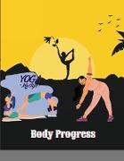 Cover-Bild zu Maxim, Mellow: Body Progress: Weekly weight loss tracker For Girls Women Gifts ideas for overweight friend Weight Tracker Journal - Health and Fitne