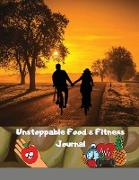 Cover-Bild zu Kasum, Maxim: Unstoppable Food & Fitness Journal: Fun & Interactive Food & Fitness Planner for Weight Loss and Diet Plans With Daily Inspirations
