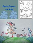 Cover-Bild zu Islay, Insane: Brain Games for Kids: Coloring and Quotes to Exercise Your Mind