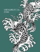 Cover-Bild zu Kasum, Maxim: Ornamental Fish: Gorgeous Fish Designs to Color Suitable for All Ages